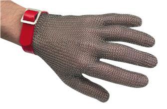 Guanto in maglia inox tg. 8 e 8,5