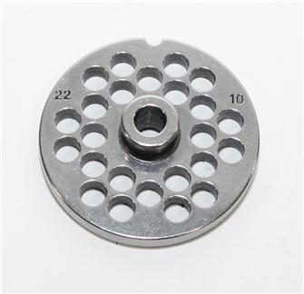 Piastra 10 mm per tritacarne n.22