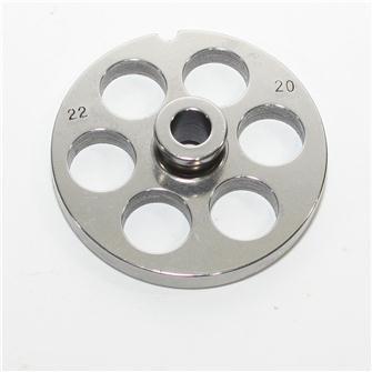 Piastra 20 mm per tritacarne n.22