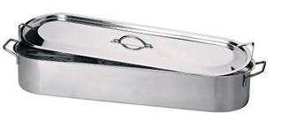 Pesciera inox 60 cm