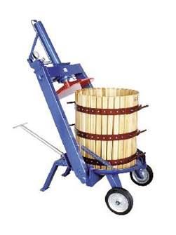 Torchio idraulico manuale a staffa, 212 l