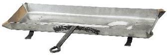 Leccarda inox, 68 cm