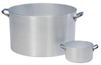 Casseruola polivalente in alluminio 22 cm