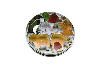 Scatola porta stampini a forma di animali
