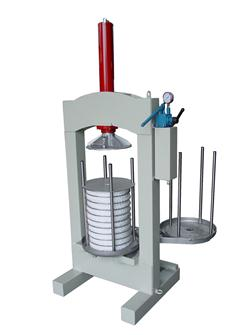Torchio manuale idraulico per olive, 30 kg/h