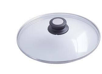 Coperchio in vetro 28 cm