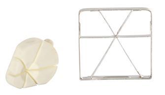 Griglia e spingitore a 6 segmenti per taglia patat