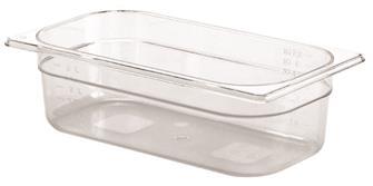 Bacinella per alimenti senza BPA GN 1/3 h. 10 cm copoliestere