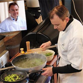 Asparagi: come li cucina lo chef Bruno Tenailleau
