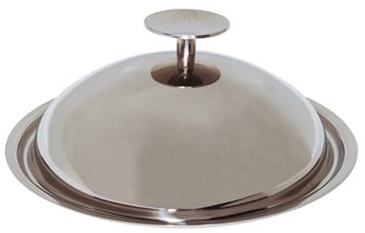 Coperchio campana Baumstal inox 28 cm