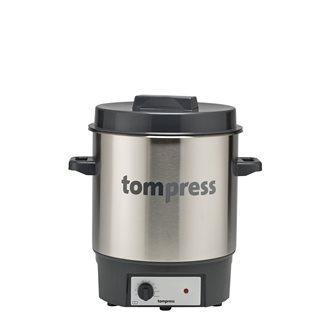 Pastorizzatore elettrico inox Tom Press