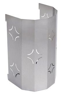 Pattumiera inox per carrello inox e legno per piastra da 40, 60 e 90 cm
