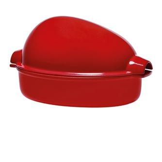 Rostiera grande 5 l ceramica rossa Grand Cru Emile Henry