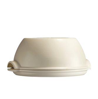 Kit pane fatto in caso ceramica bianca Lin Emile Henry