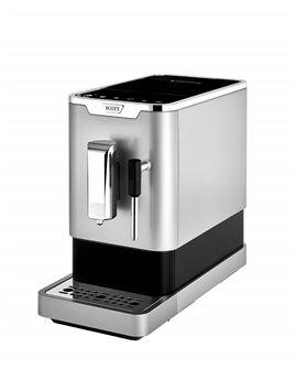 Macchina caffé espresso con macina grani e getto vapore