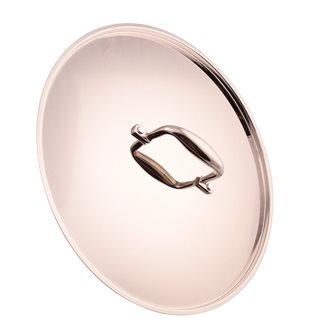 Coperchio aluinox finitura specchio 32 cm