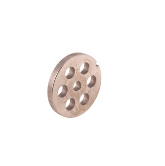 Piastra fori 12 mm per tritacarne elettrico REBER n.8 inox.