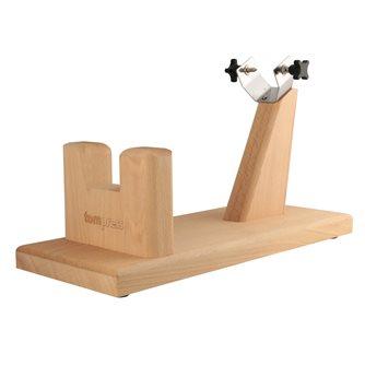 Porta prosciutto in legno massiccio di faggio oliato