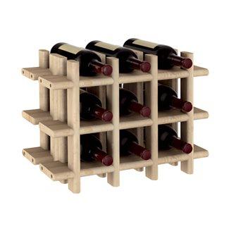 Porta bottiglie da vino 9 spazi
