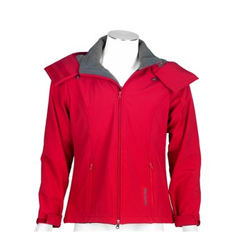 Giaccone pile donna rosso Bartavel Ohio softshell S
