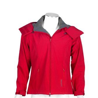 Giaccone pile donna rosso Bartavel Ohio softshell S
