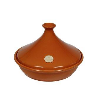 Tajine ceramica arancione 32 cm per 6-10 persone Emile Henry