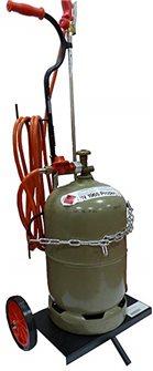 Carrello per bombola di gas butano e propano