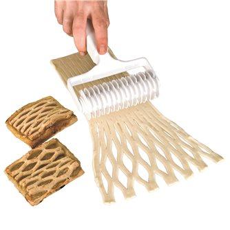 Rullo taglia-pasta a losanghe o croci
