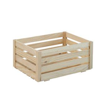 Cassetta in legno pino massello