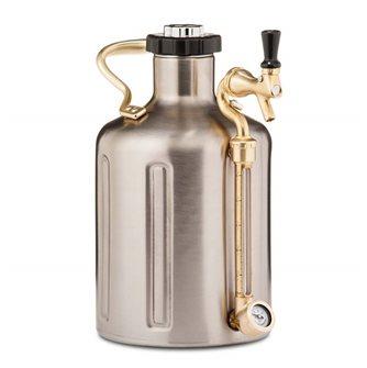 Fusto inox a pressione 3,8 litri doppia parete
