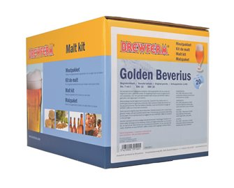 Kit malto Golden Beverius per 20 l