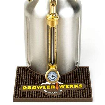 Tappetino da bancone per fusto a pressione inox 3,8 litri