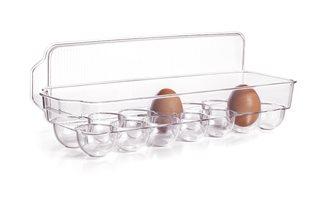 Contenitore 14 uova con coperchio per frigorifero