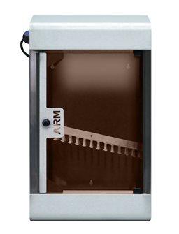 Armadio di sterilizzazione inox 15 W per 10 coltelli