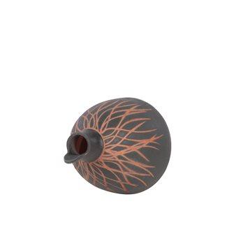 Casetta nera con apertura frontale per cinciallegra