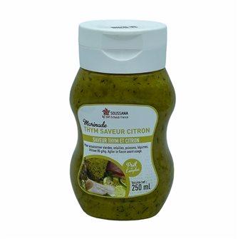 Marinatura liquida timo aromatizzato al limone 250 ml
